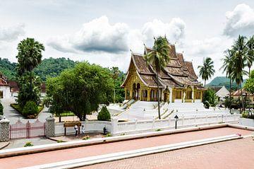 Tempel in Luang Prabang, Laos, Azië von Eline Willekens