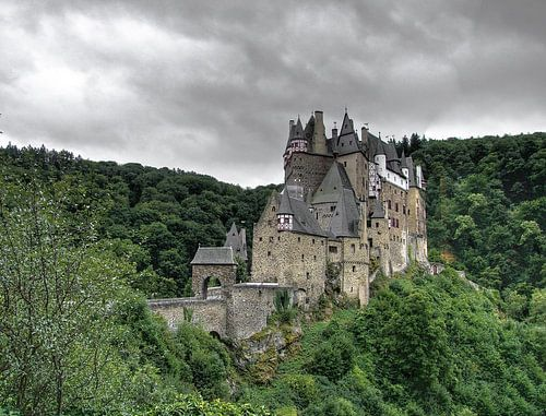 Burg Eltz Duitsland van