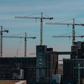 De stad die nooit stopt met bouwen van Jelle Lagendijk