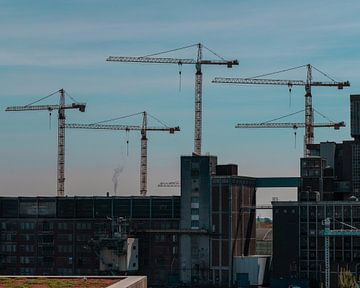 Die Stadt, die nie aufhört zu bauen von Jelle Lagendijk