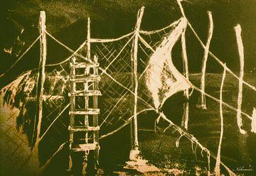 Fischernetze van Christine Nöhmeier