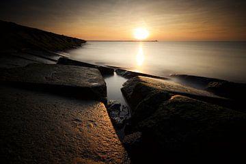 Sonnenuntergang IJmuiden von Gerhard Niezen Photography