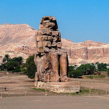 Kolossen van Memnon van Maarten Verhees