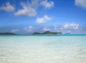 Bora Bora islets von