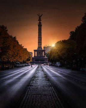 Berlin Siegessäule 2020 von Iman Azizi