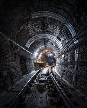 De metro van Jeroen van Dam