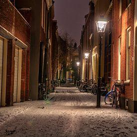 Jerusalemstraat,Utrecht,inde sneeuw van Robin Pics (verliefd op Utrecht)