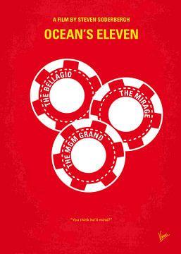 No056 My Oceans 11 minimal movie poster van Chungkong Art