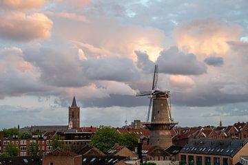 Molen de Noord in Schiedam van Kok and Kok