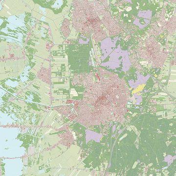 Kaart vanHilversum