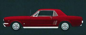 Ford Mustang 1964 GT eine amerikanische Legende von Jan Keteleer