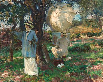 Die Zeichner, John Singer Sargent