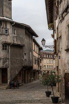 Dorpsgezicht Bealieu sur Dordogne van Manuuu S