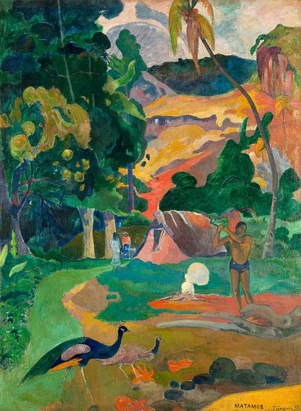 Paul Gauguin. I Raro Te Oviri von 1000 Schilderijen