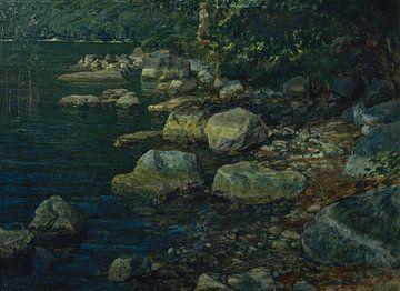 Alexander Andrejewitsch Iwanow~Wasser und Steine in Palazzuola