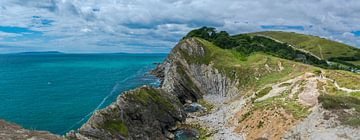 Die zerklüftete Küste von Süd-England, Dorset von