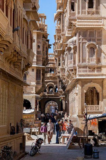 Jaisalmer, Rajasthan, India van Jan de Vries