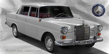 Mercedes-Benz 190/200 (W 110) van aRi F. Huber