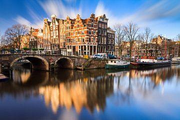 Brouwersgracht Amsterdam van Dennis van de Water