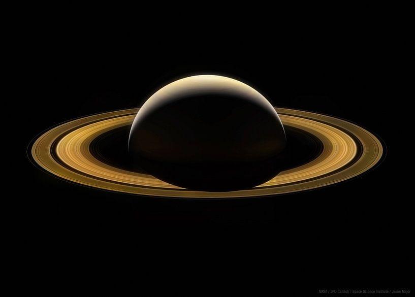 Saturne, dernière image de la planète sur Atelier Liesjes