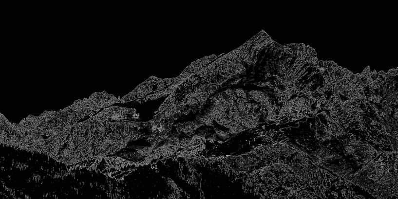 Blick zur Alpspitze von Andreas Müller
