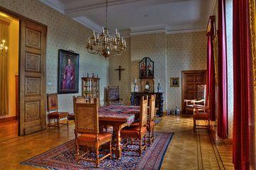 Kamer in abdij Rolduc van