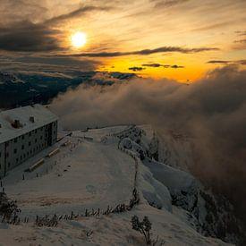 Sonnenuntergang auf der Rigi Kulm - Schwyz - Schweiz von Felina Photography