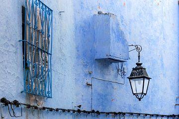 Marokkaans blauw van Stefania van Lieshout