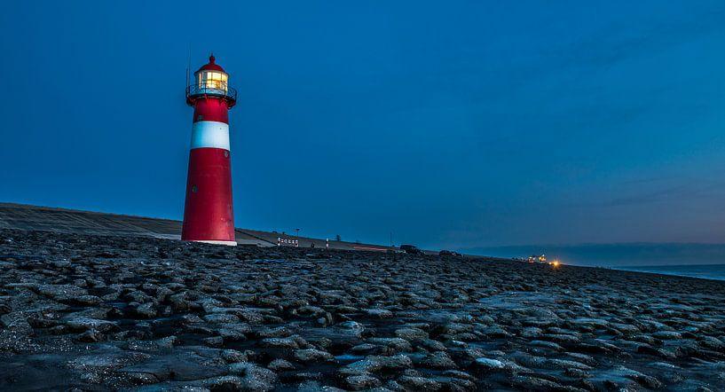 Short Lighthouse (Noorderhoofd) Westkapelle (Netherlands) von Henk Verheyen