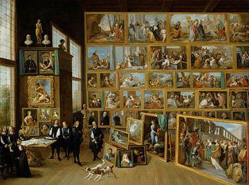 Erzherzog Leopold Wilhelm in seiner Galerie in Brüssel, David Teniers der Jüngere