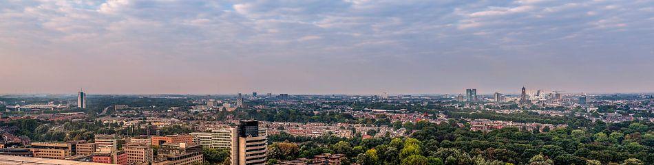 Panorama Utrecht stad.