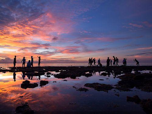 Happy sunset von Dicky Boele