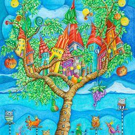 Boom House - Kunst voor Kinderen van Atelier BuntePunkt