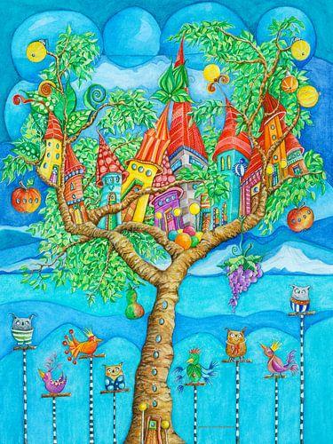 Boom House - Kunst voor Kinderen sur