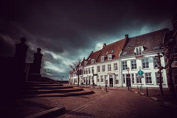 Dijkstraat - Wijk bij Duurstede (Nederland) van Dirk-Jan Kraan