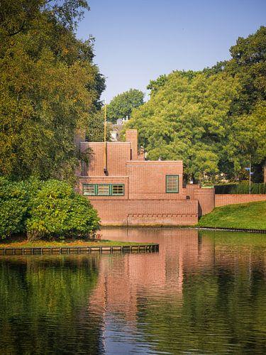 Pomphuis van Willem Dudok, Laapersveld, Hilversum