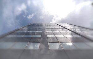 Reflectie in Schielandtoren, van Dick Kattestaart