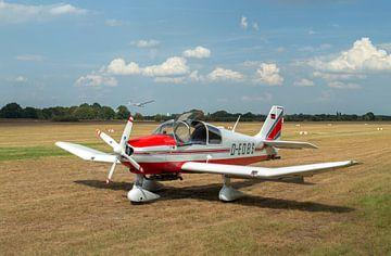 Flugzeug Robin DR400 von MSP Canvas