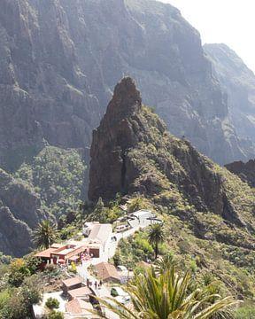 Masca een dorp in de bergen van Milad Hussin