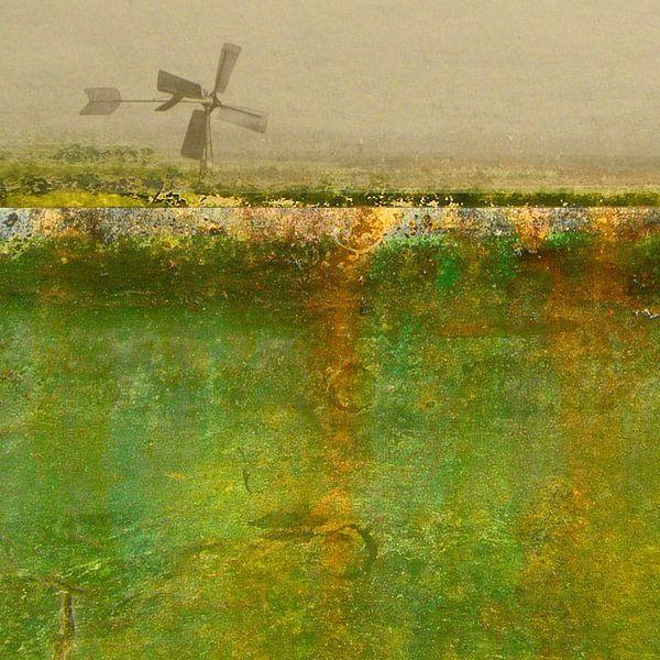 Lente in de Zaanstreek in het vierkant van Ger Veuger