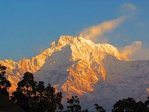 Annapurna South van Arno Snellenberg