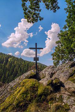 Gipfelkreuz van Daniel Raab