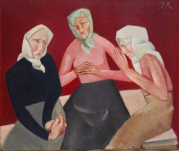 Jēkabs Kasachen, drei alte Damen - 1916 von Atelier Liesjes