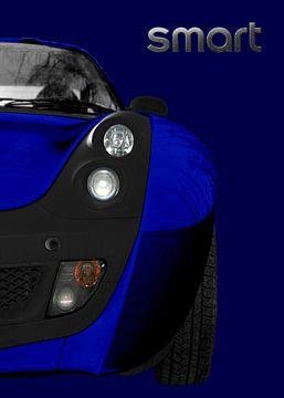 slimme Roadster in blauw & blauw van aRi F. Huber