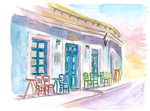 Restaurant Little Harbour Bar im malerischen Griechenland