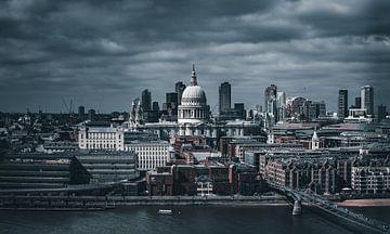 London Southbank skyline dramatic movie von vedar cvetanovic