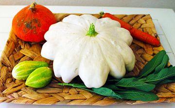 harvest plate van M.A. Ziehr