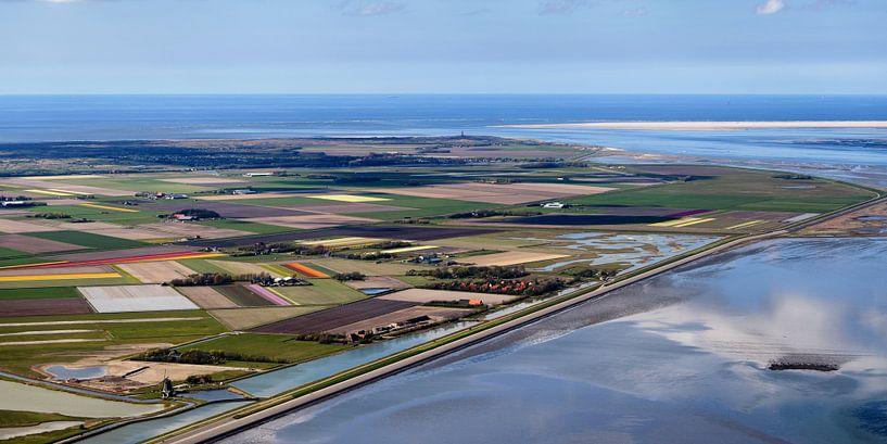Noordelijke Waddendijk Texel van Roel Ovinge