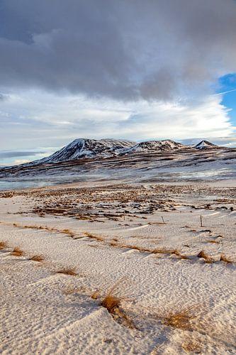 IJslands landschap van