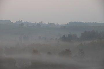 Mistig Ardennen van Geert Neukermans